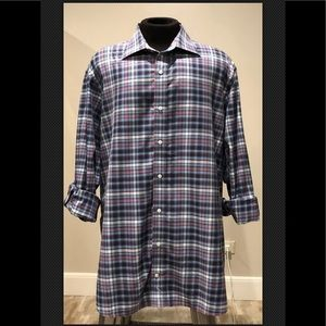Tailorbyrd mens Sz 2XL Long sleeve Mens shirt